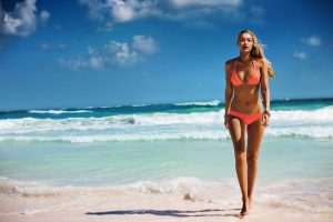 Gigi Hadid Hits the Beach for Seafolly 2015/2016 Campaign
