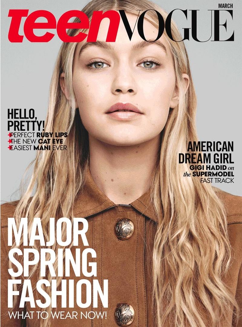 Vogue Magazine Uk May 2015 Issue: Teen Vogue Taps Models Gigi Hadid + Binx Walton For March