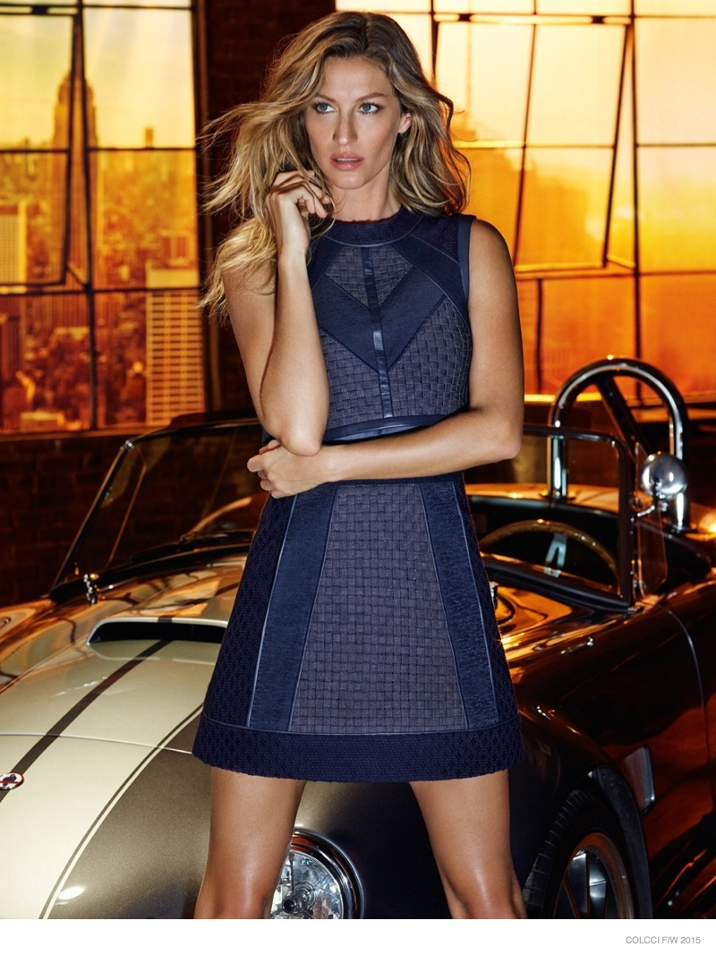 Gisele Bundchen Sports Denim Style in Colcci Fall '15 Ads
