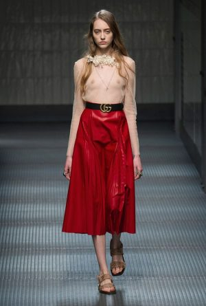 Gucci Fall 2015: Alessandro Michele Debuts Ethereal, Youthful Collection