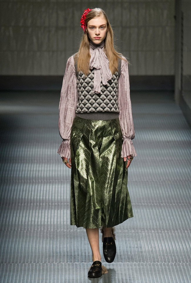 Top 4 Fall/Winter 2015 Trends from Milan Fashion Week
