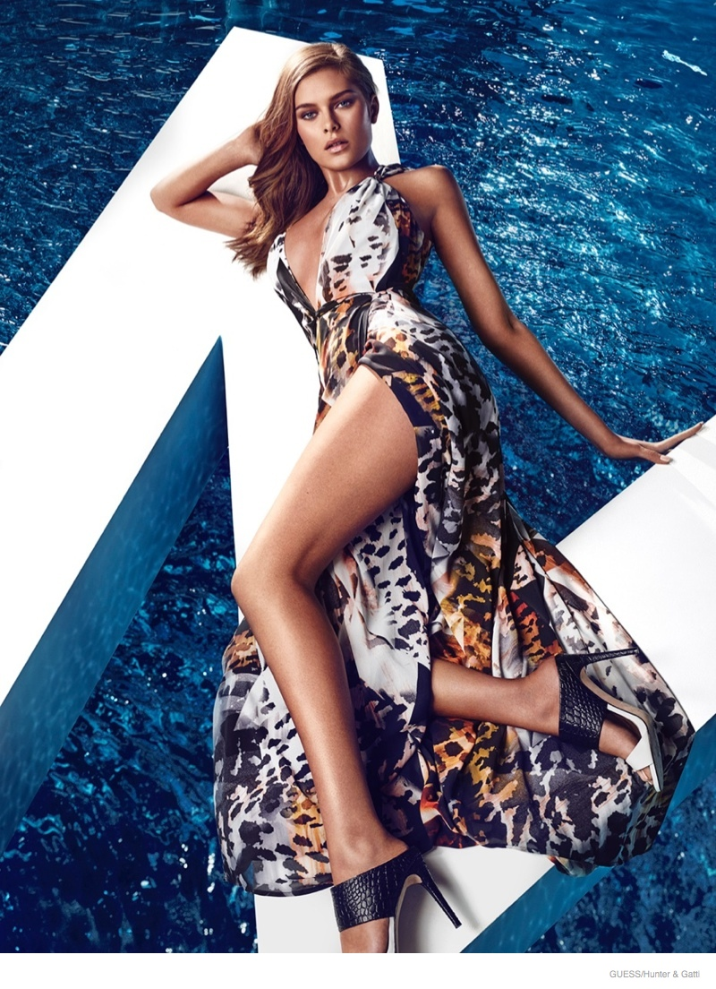 Guess By Marciano Gets Glam For Spring 2015 Ads