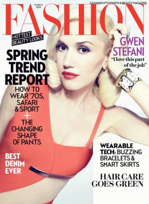 Gwen Stefani Covers FASHION Magazine & Explains Why She Won't Pose Topless