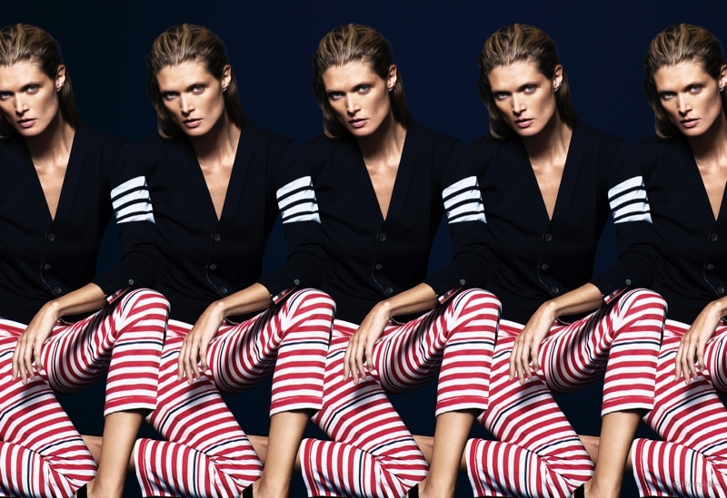 Malgosia Bela Sports Designer Looks in Harrolds Spring 2015 Campaign