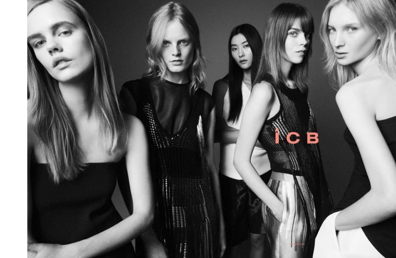 iCB Goes Minimal for its Spring 2015 Campaign