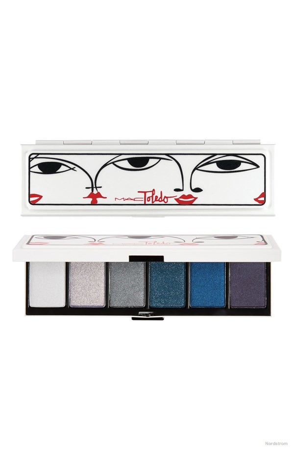 Isabel & Ruben Toledo MAC 'Moodyblue' Eyeshadow Palette available for $44.00