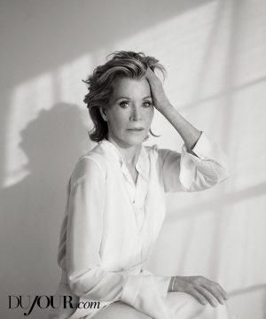 Jane Fonda Stars in DuJour, Talks Plastic Surgery & Life Lessons