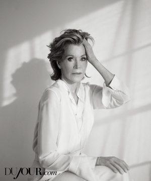 Jane Fonda Stars in DuJour, Talks Plastic Surgery & Life Lessons