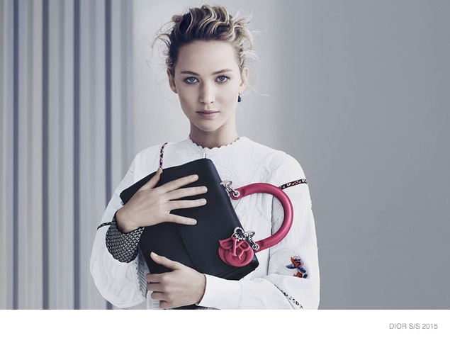 More Images of Jennifer Lawrence for Be Dior Spring '15 Ads