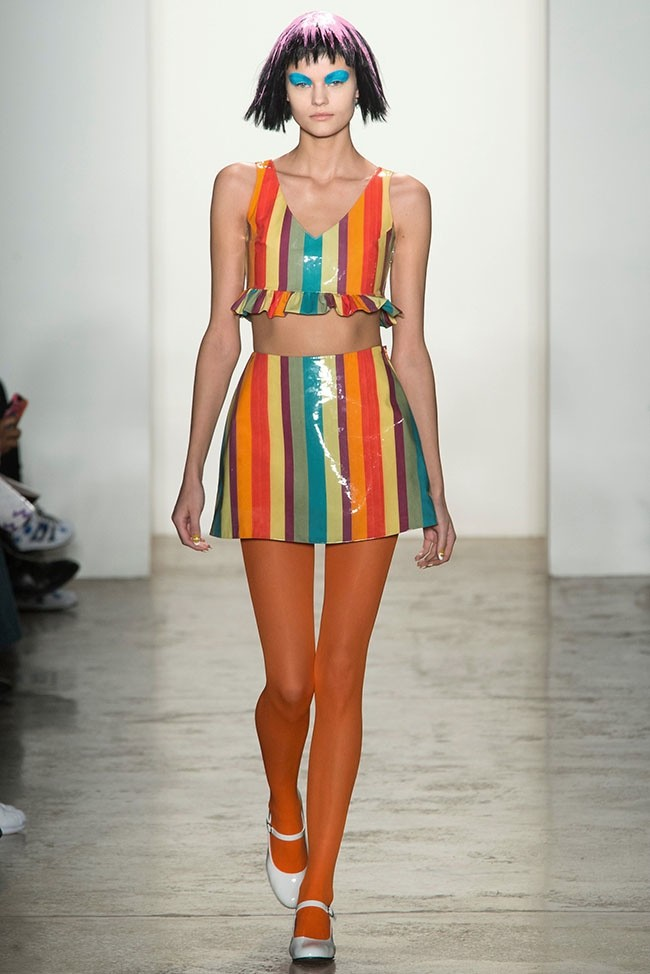 Jeremy Scott Does Colorful Baby Doll Fashion For Fall
