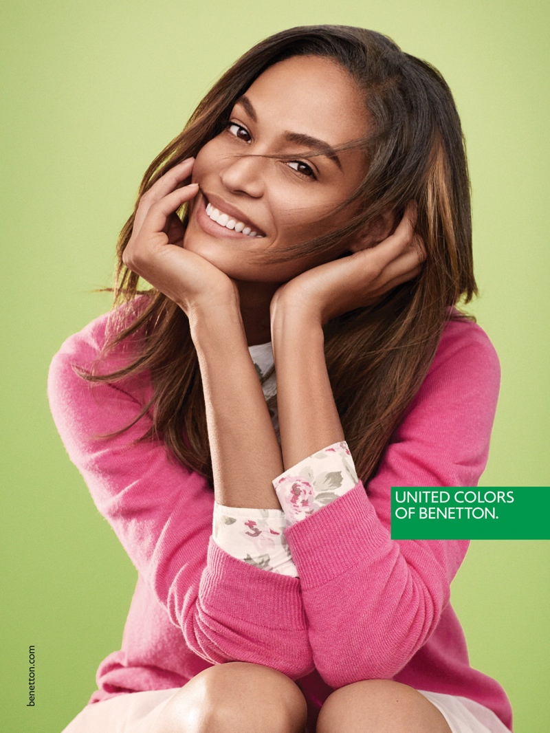 Joan Smalls for United Colors of Benetton