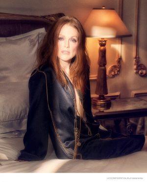 Julianne Moore Stars in Sexy Fashion Shoot for LA Confidential