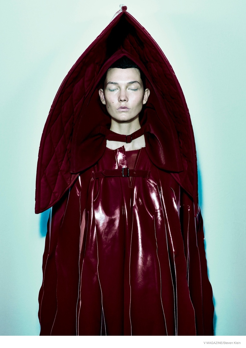 Karlie Kloss Looks Almost Unrecognizable in Edgy V Magazine Shoot