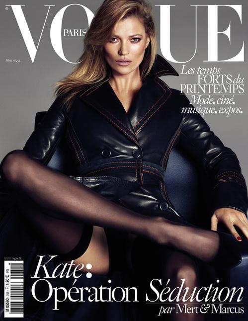 Kate, Daria & Lara Channel 'Basic Instinct' for Vogue Paris Covers