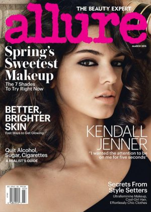 Kendall Jenner Rocks Sexy Curls on Allure Cover