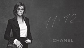 Kristen Stewart shows off her trademark disheveled tresses in the 11.12 Chanel handbag ad campaign.