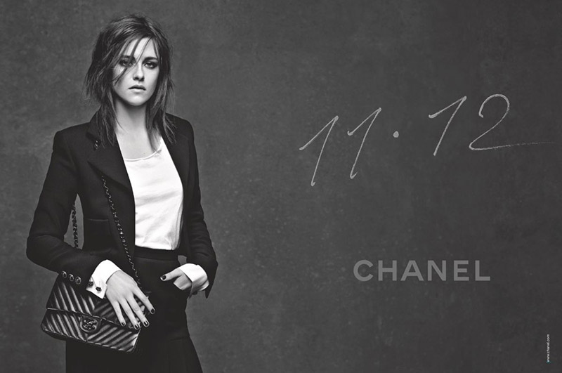 First Look: Kristen Stewart in Chanel 11.12 Handbag Ad
