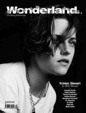 Kristen Stewart Rocks Boyish Haircut for Wonderland Cover