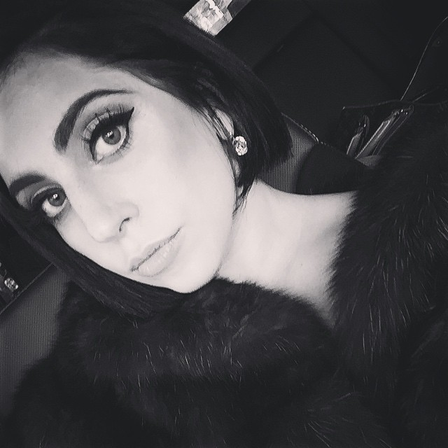 NEW HAIRDO: Lady Gaga shows off a black bob hairstyle in recent Instagram. Photo: Instagram/ladygaga