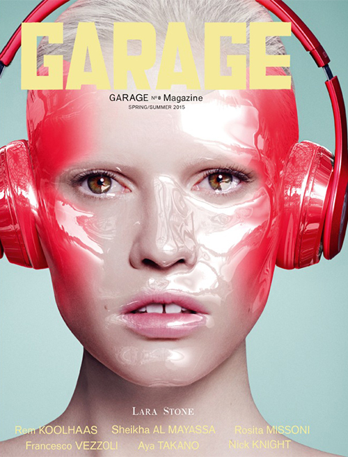 Garage Magazine Covers spring-summer 2015