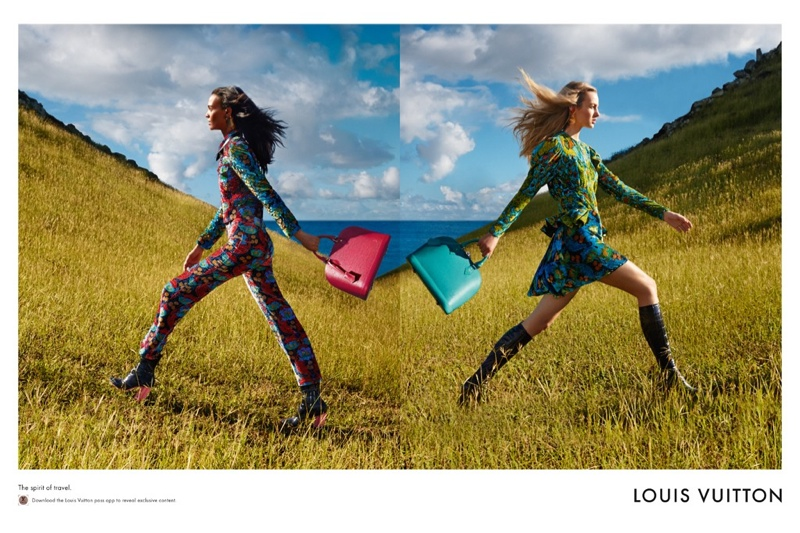 Open fields really let Louis Vuitton's latest handbag styles pop.