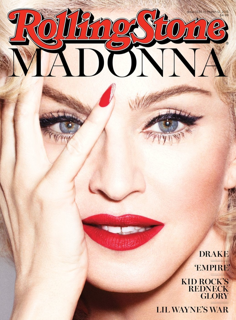 "Madonna Covers Rolling Stone, Says Lady Gaga ""Ripped Off"" Express Yourself"