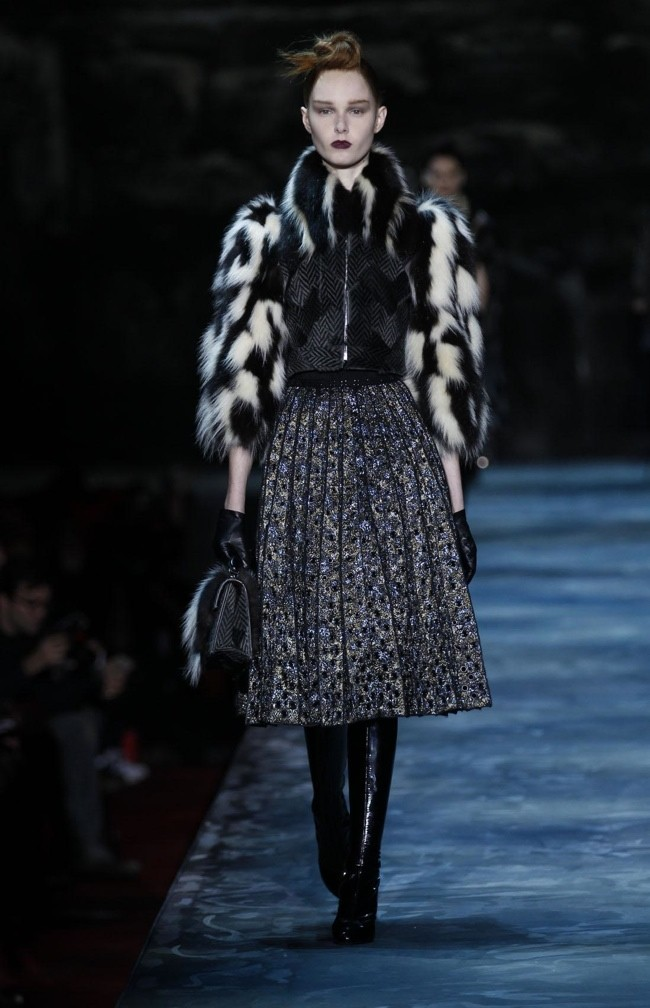 Marc Jacobs Goes for Opulence & Glamour for Fall 2015