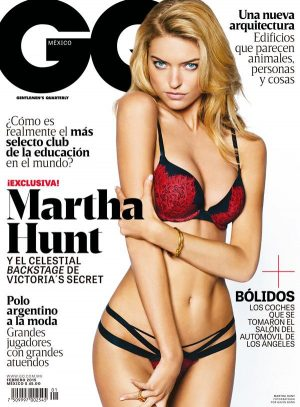 Martha Hunt is Red Hot in Victoria's Secret on GQ Mexico Cover