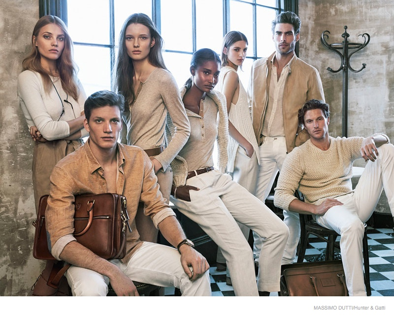 Massimo Dutti Spotlights Clean & Simple Style for 689 5th Ave. Ads by Hunter & Gatti