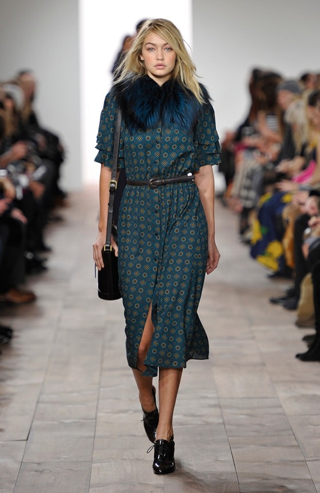 Michael Kors Takes on Menswear Tailoring & Opulent Style for Fall 2015
