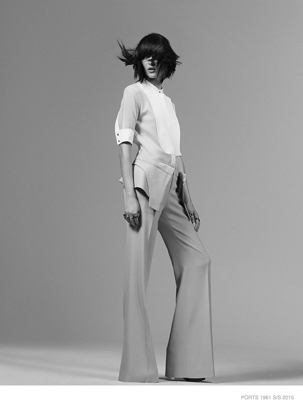 Sam Rollinson is Minimal Chic in Ports 1961 Spring '15 Ads