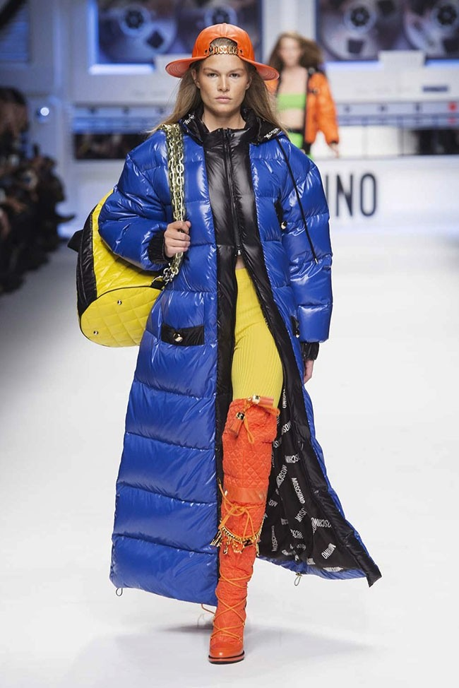Moschino Goes 'Looney Tunes' for Hip-Hop Inspired Fall 2015