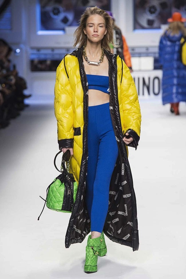 moschino goes �looney tunes� for hiphop inspired fall 2015