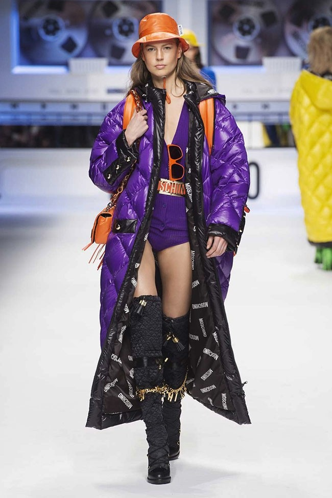Moschino Goes Looney Tunes For Hip Hop Inspired Fall 2015