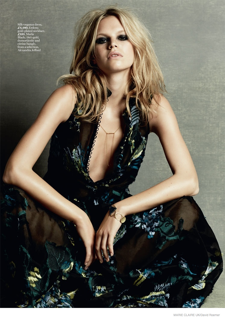Nadine Leopold Is A 70s Dream In Fashion Story For Marie Claire Uk Fashion Gone Rogue For