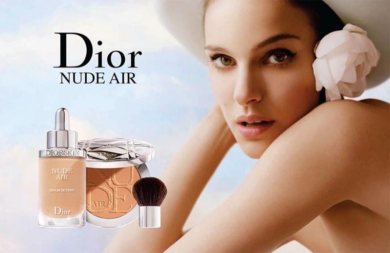 Natalie Portman for Diorskin Nude Air Makeup Campaign (2015)