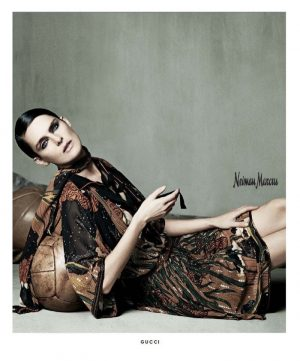 Stella Tennant Stars in Neiman Marcus 'Art of Fashion' Campaign for Spring '15