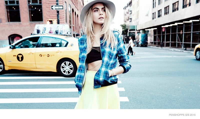 Cara Delevingne Wears Street Style For Penshoppe Spring 15 Ads