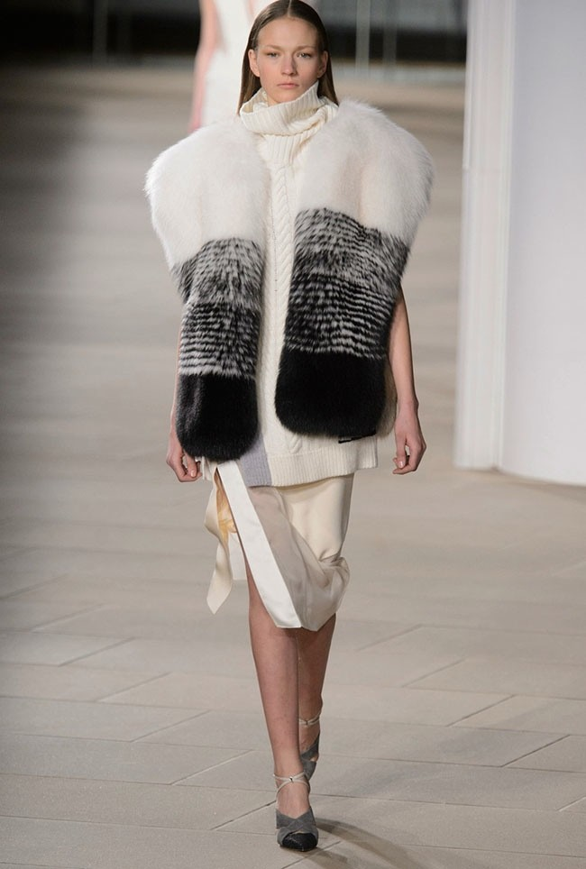 Prabal Gurung Fall 2015: Glam Cold Weather Dressing