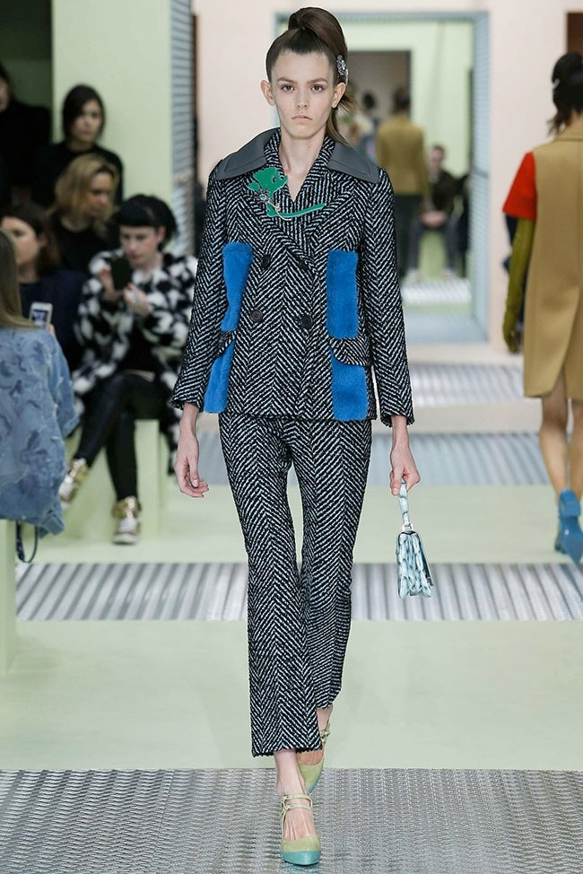 Prada Goes Colorful, Girly for Fall 2015