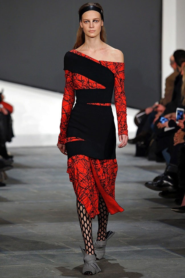 Proenza Schouler Brings New Textures & Silhouettes to Fall 2015