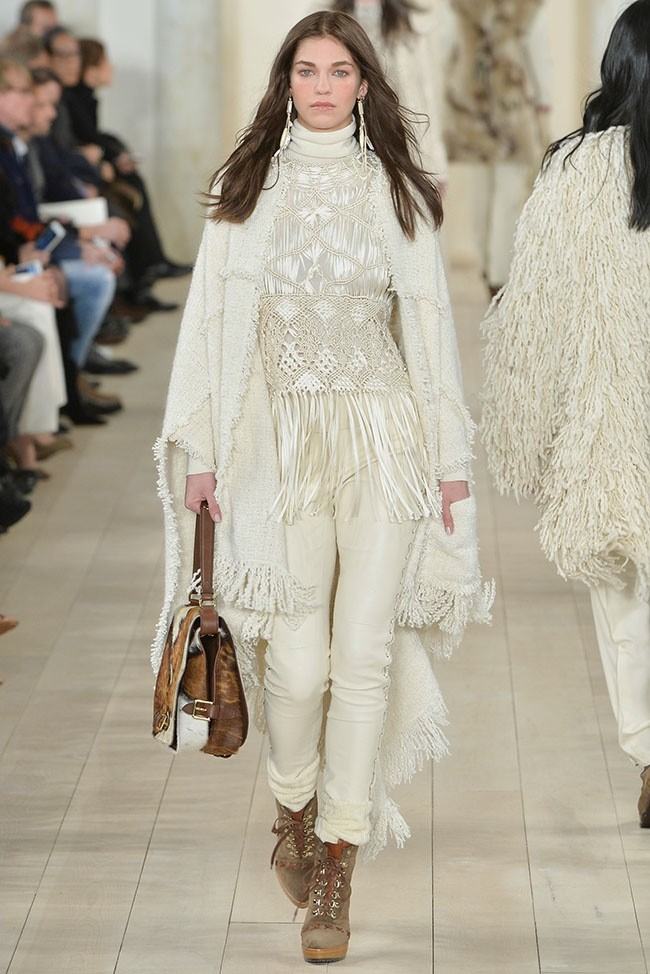 Ralph Lauren Does Southwestern Elegance For Fall 2015