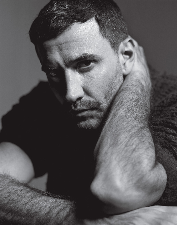 Riccardo Tisci by Mark Seliger. Image via Details.