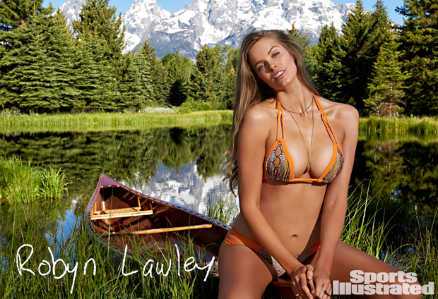 Robyn Lawley is the First Plus Size Model to Appear in Sports Illustrated Swimsuit Issue