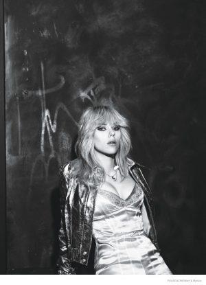 Scarlett Johansson Channels Blondie for W Magazine & Talks Being a New Mom