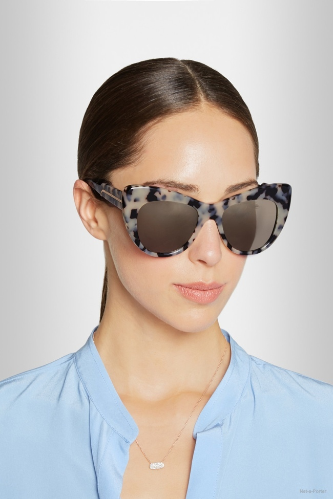 7e7dcfd33edd Marc by Marc Jacobs Mirrored Cat Eye Sunglasses available for  150.00 Stella  McCartney Tortoiseshell Cat Eye Acetate Sunglasses available for  300.00