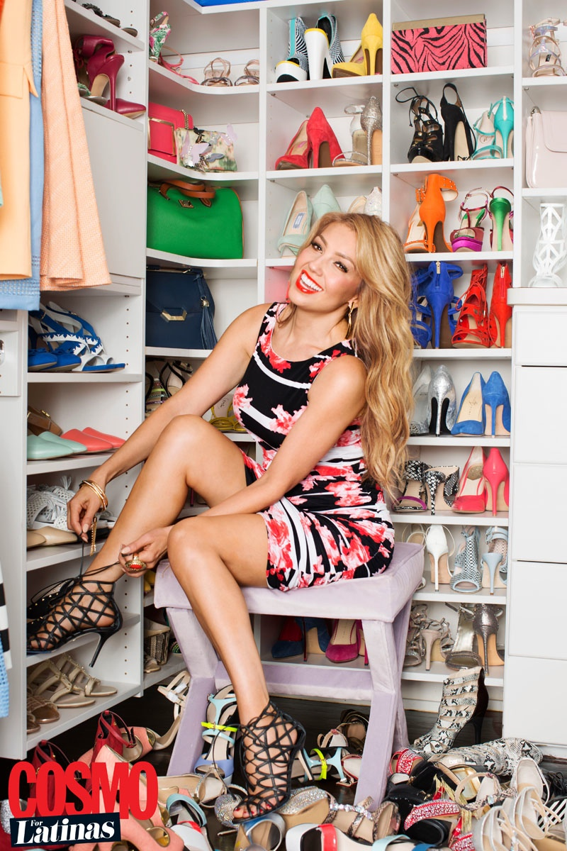 Thalia Covers Cosmo for Latinas & Discusses Macy's Fashion Line