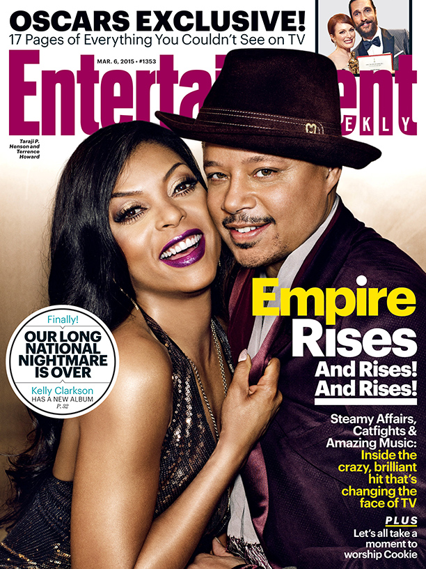 'Empire' Stars Taraji P. Henson & Terrence Howard Cover Entertainment Weekly