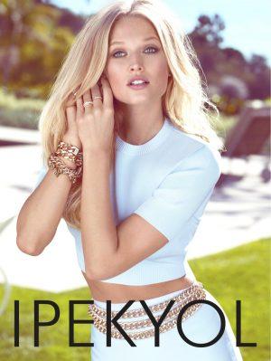 Toni Garrn Wears Sunny Fashions for Ipeykol Spring 2015 Ads