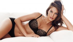 Emily DiDonato Strips Down for H&M Valentine's Day Lingerie